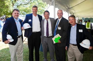 Omega Construction attends Grand Opening of REPREVE Facility
