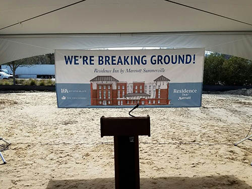 Summerville, SC Residence Inn Ground Breaking