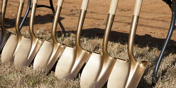 Yadkin Vision Center Ground Breaking