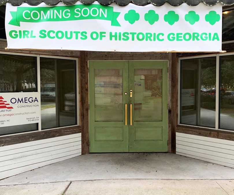 Work Begins on Girl Scout Headquarters