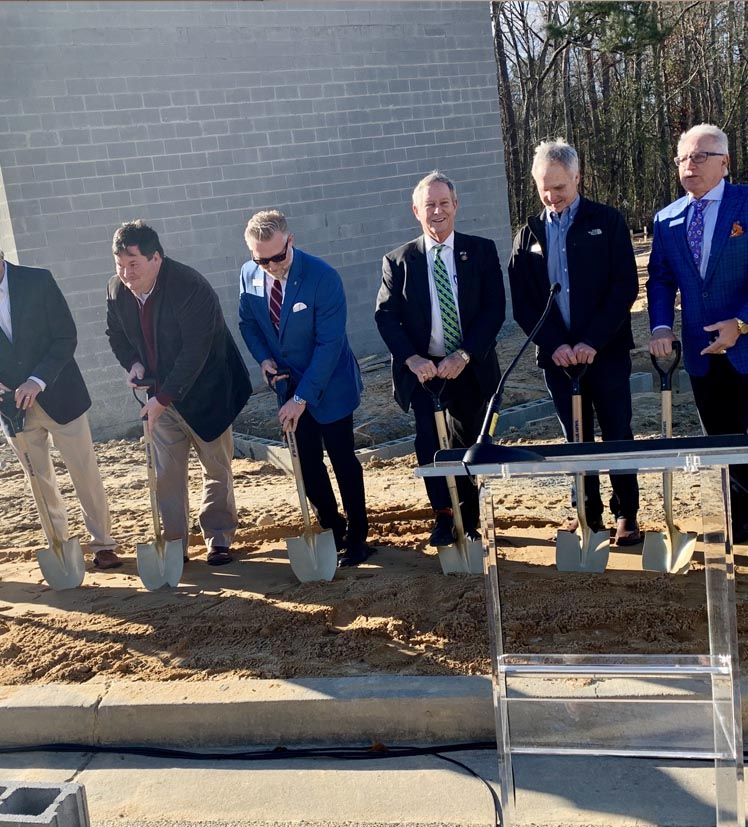 Omega Construction breaks ground at TownePlace Suites in West Columbia