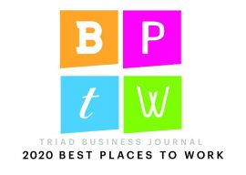 Omega Voted #3 of the BEST PLACES TO WORK in the Triad!
