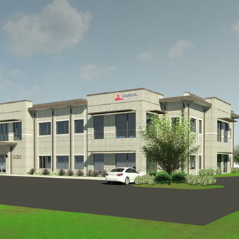 Omega Breaks Ground on New Class-A Office Building