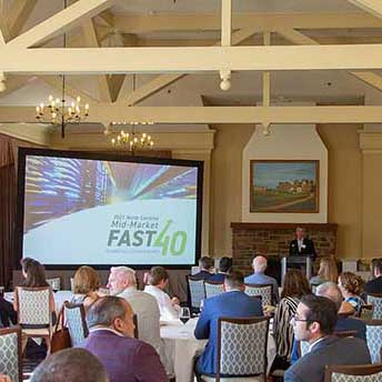 Omega ranks #13 in top 40 fastest growing NC companies